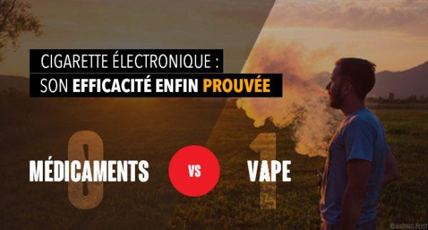 Étude sur les substituts nicotiniques : la vape victorieuse par K.O